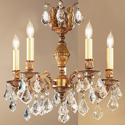 Classic Lighting Chateau 5 Light Chandelier