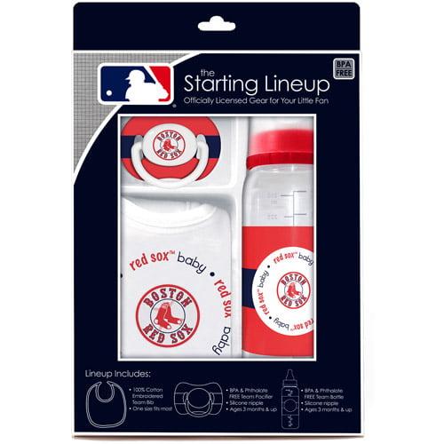 Baby Fanatic MLB Baby Gift Set, Boston Red Sox