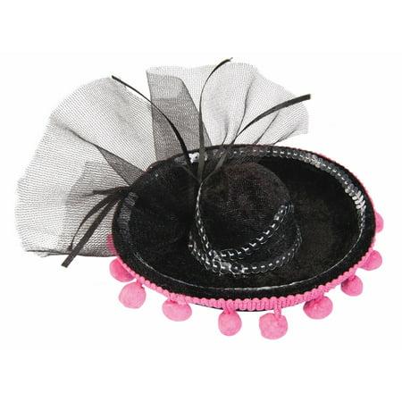 Day Of The Dead Mini Sombrero Costume Hat - Custom Sombrero