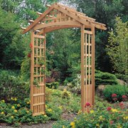 Arboria Nantucket 8-ft. Cedar Gable Arbor
