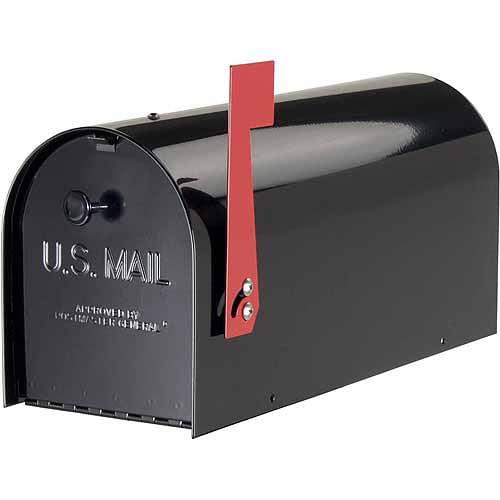 Solar Group Inc TB1B Black Tuff Body Mailbox by Wood Textures Inc