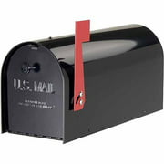 Solar Group Inc TB1B Black Tuff Body Mailbox