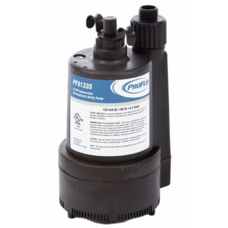PROFLO PF91335 1/3 HP Thermoplastic Submersible Utility Pump
