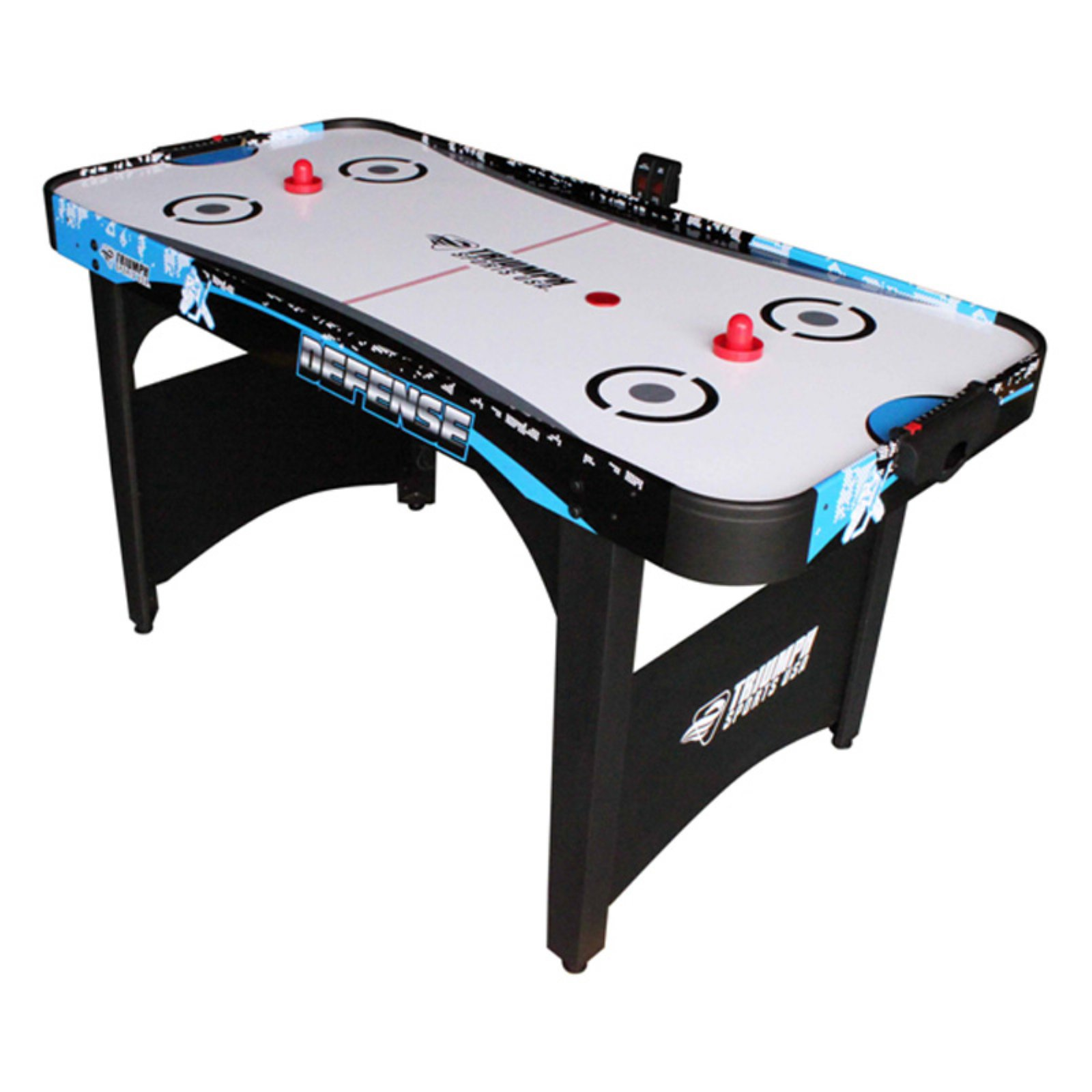 """Triumph 60"""" Defense Air Hockey Table with Electronic Scorer by Escalade Sports"""
