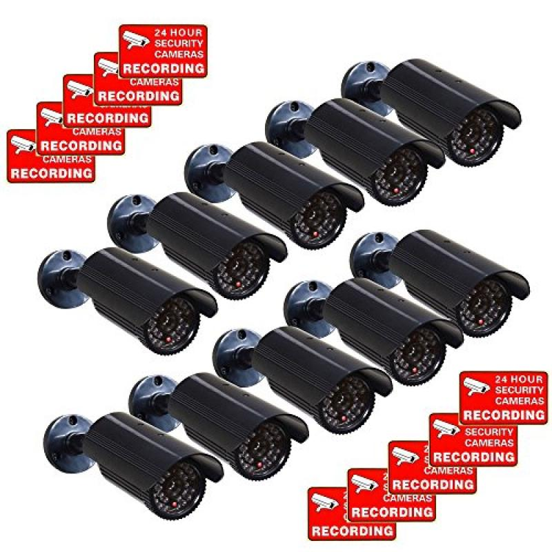Videosecu Cctv Fake Security Cameras Dummy IR Infrared LE...