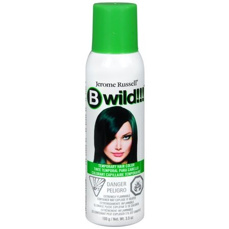 Jerome Russell Jerome Russell Bwild! Color Spray, 3.5 oz - Green Hair Spray