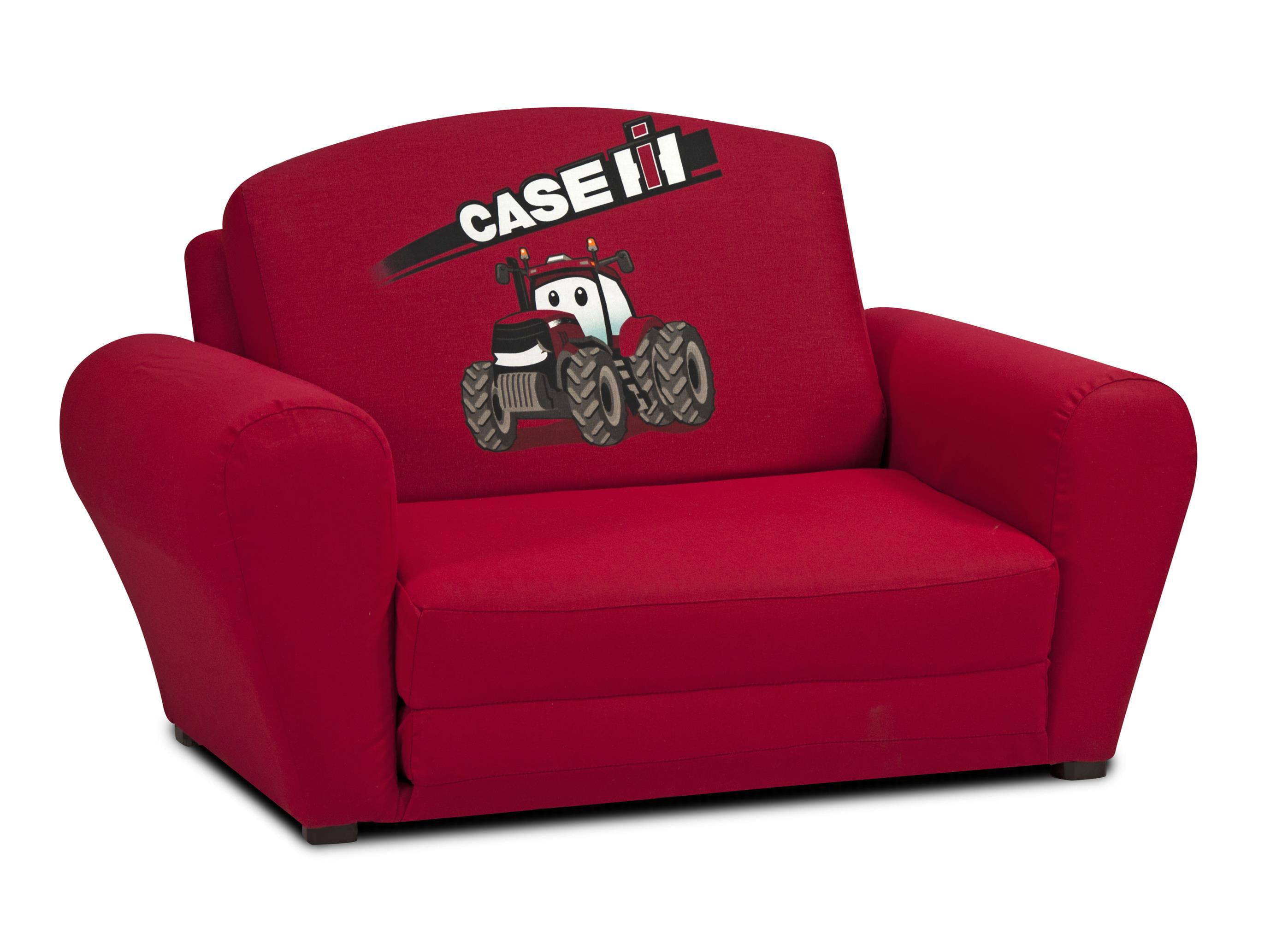 Case International Harvester Kids Sleepover Sofa in Red by Kidz World