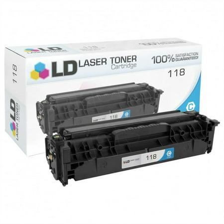 LD © Compatible Canon 2661B001AA / 118 Cyan Toner Cartridge for ImageClass MF8350Cdn, LBP7660Cdn, MF8380Cdw, MF8580Cdw, and LBP7200Cdn ()