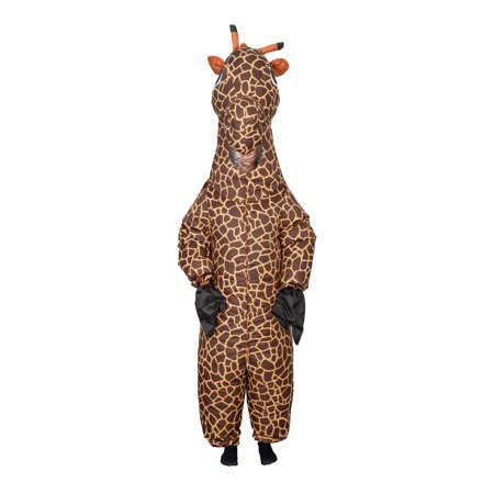 Giraffe Inflatable Halloween Costume Cosplay Jumpsuit - Doc Brown Cosplay