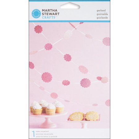 Martha Stewart Crafts Vintage Girl Glittered Dot Garland (Best Halloween Crafts Martha Stewart)