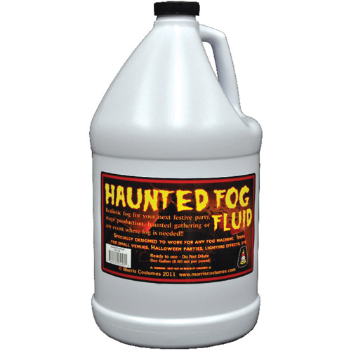 1-Gallon Haunted Fog Fluid Halloween Accessory