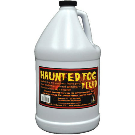 1-Gallon Haunted Fog Fluid Halloween Accessory - Haunted History Halloween