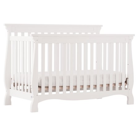Walmart: Storkcraft Carrara 4 in 1 Convertible Crib White Only $99