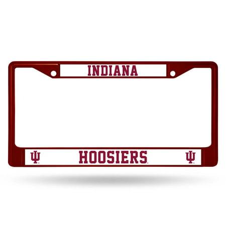 (Indiana Hoosiers Metal License Plate Frame - Maroon)