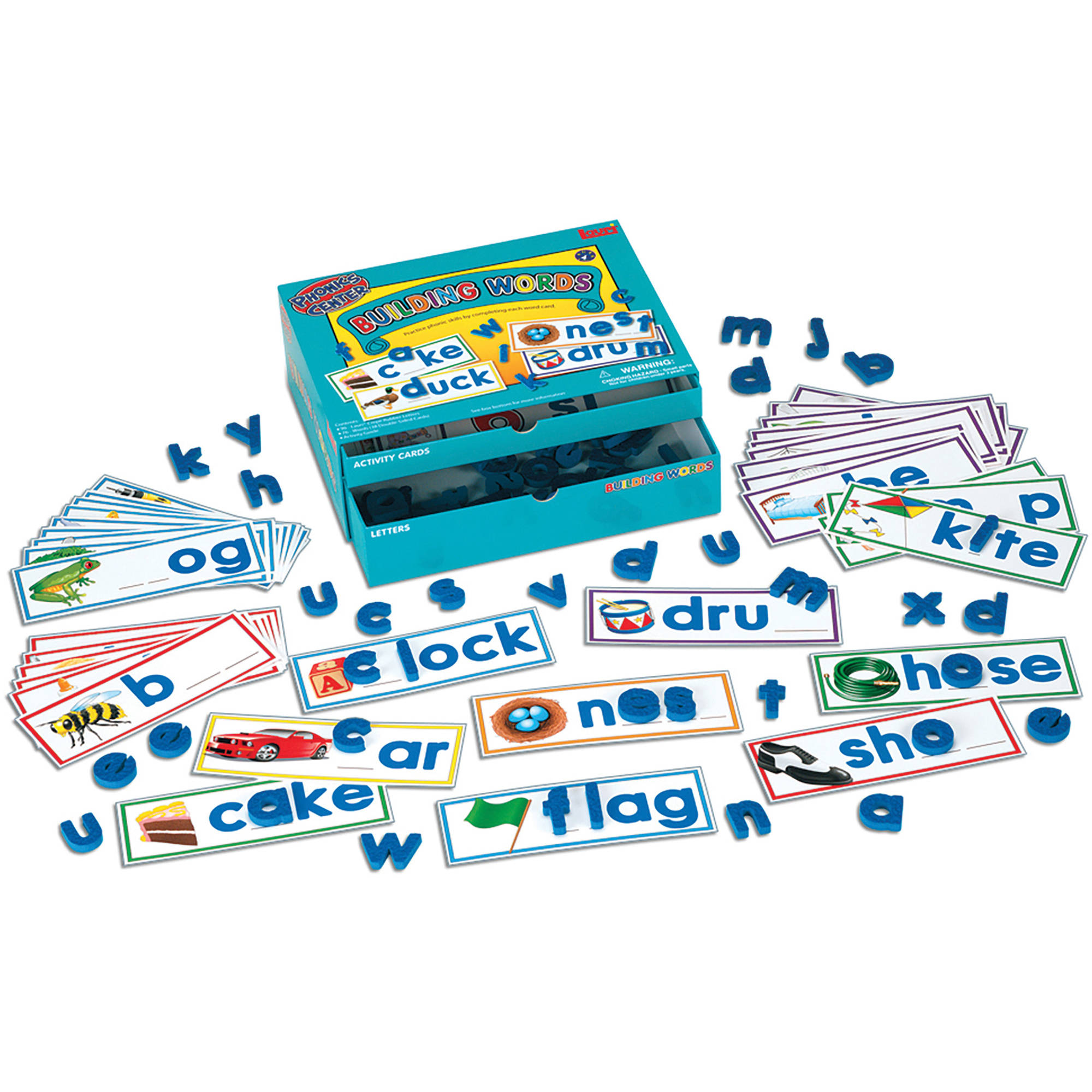 LAURI Educational Phonics Kit, Building Words