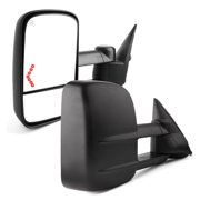 Power Heated LED Signals Towing Mirrors for 03-07 Chevy Silverado 1500/2500/HD/3500