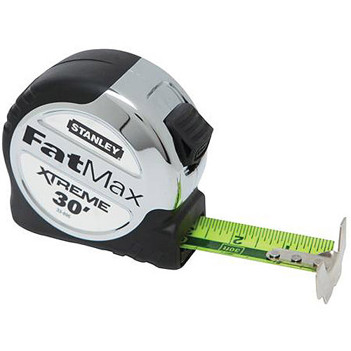 "Stanley Fatmax Xtreme Tape Rule with Bladearmor Coating, 1.25"" x 30', 33-895"