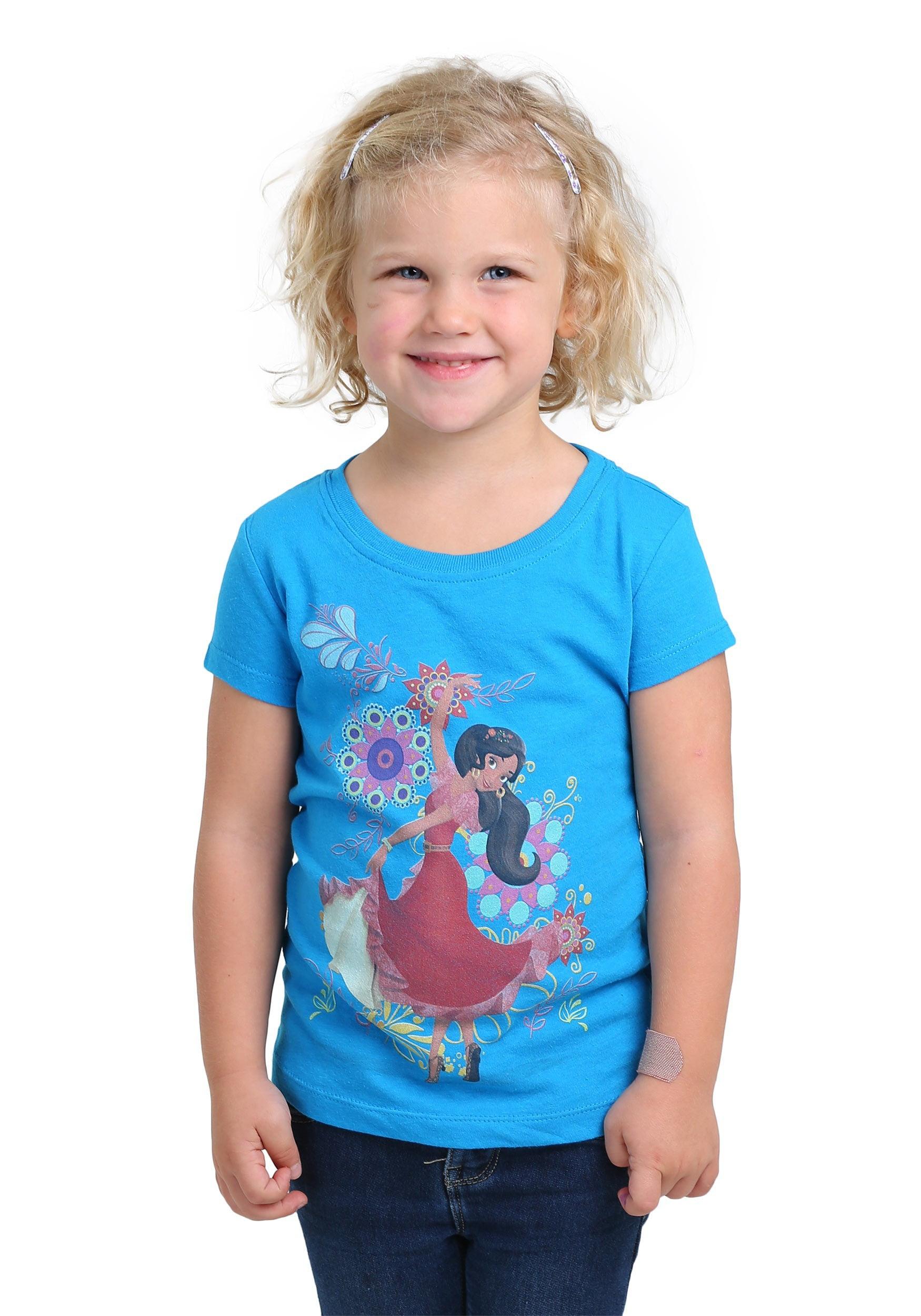 elena of avalor elena dancing girls t-shirt