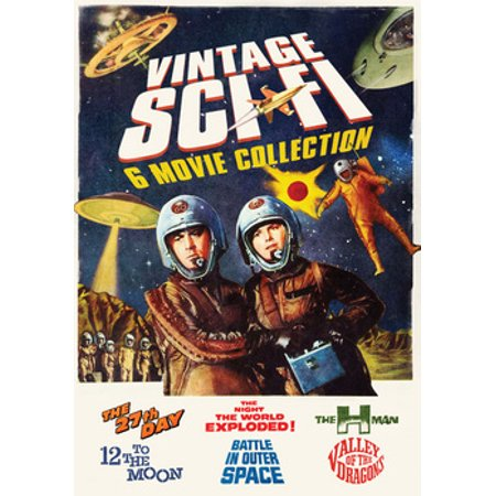Vintage Sci-Fi 6-Movie Collection (DVD)](Vintage Halloween Collection)