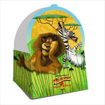 Madagascar 'Escape 2 Africa' Favor Boxes (4ct) - Penguins Of Madagascar Party Supplies