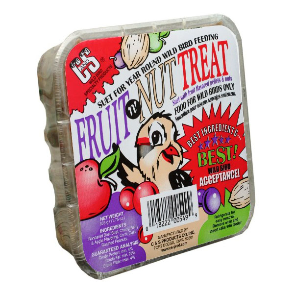 C&S Fruit N' Nut Treat Suet by C&S Products