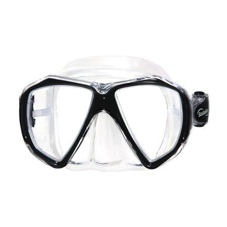 scuba max spider eye mask with free mask box (black)