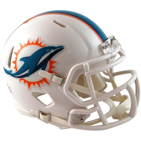 Riddell Miami Dolphins Throwback 2013-2017 Revolution Speed Mini Football Helmet