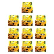 10 X Sun Flash Disposable Camera 35mm Film One Time Single Use D-10.