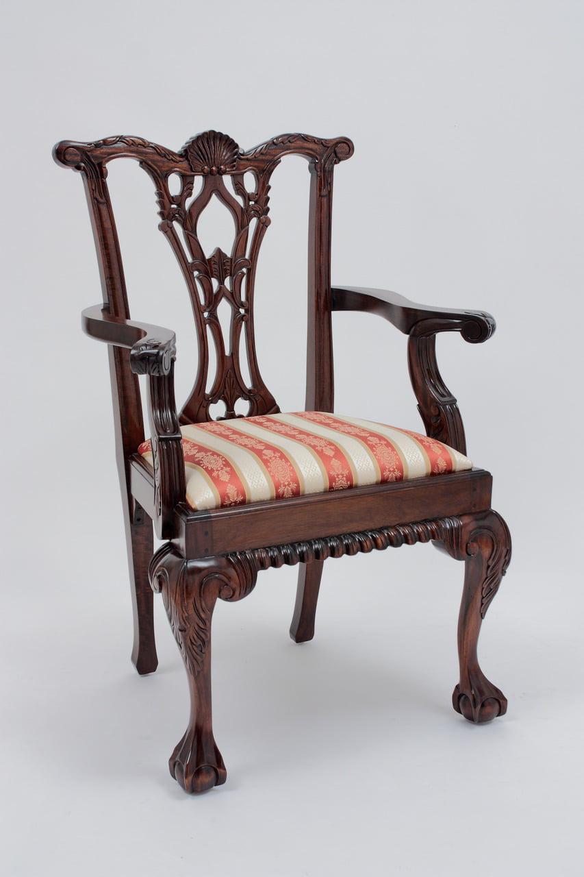 Antique Chippendale Armchair by www.laurelcrown.com