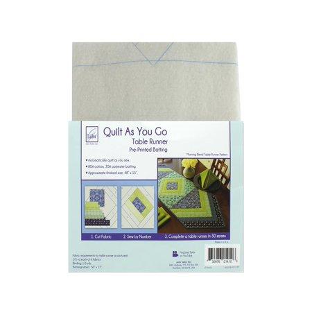 June Tailor Kit Quilt As/Go Ctn/Poly Table Runner](Halloween Table Runner Quilt Patterns)