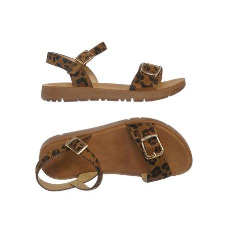 Reform9k by 1, Girl Children Comfort Flat Sandal - Kids Size Open Toe Shoe
