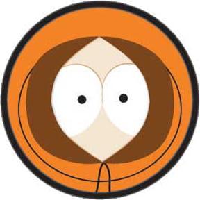 Belt Buckle - South Park - New Kenny Big Face Anime Licensed etpk5010