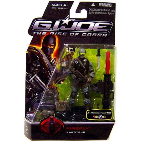 GI Joe The Rise of Cobra Firefly Action Figure (Gi Joe The Rise Of Cobra Shipwreck)