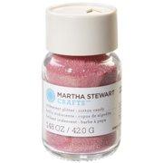 Martha Stewart Iridescent Glitter 1.48oz-Cotton Candy