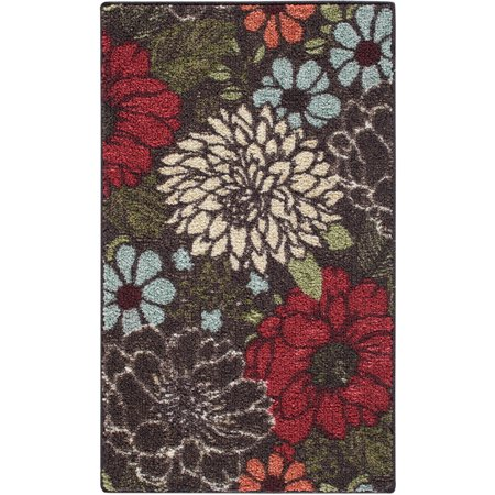 Better Homes And Gardens Sorbet Faux Hook Floral Rug