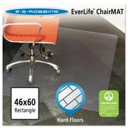 ES Robbins EverLife 46 x 60 Chair Mat for Hard Floor, Rectangular