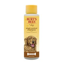 Dog Grooming: Burt's Bees Shed Control Shampoo