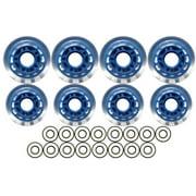 INDOOR Roller Hockey Wheels HILO 72 80 ABEC 9 BEARINGS by