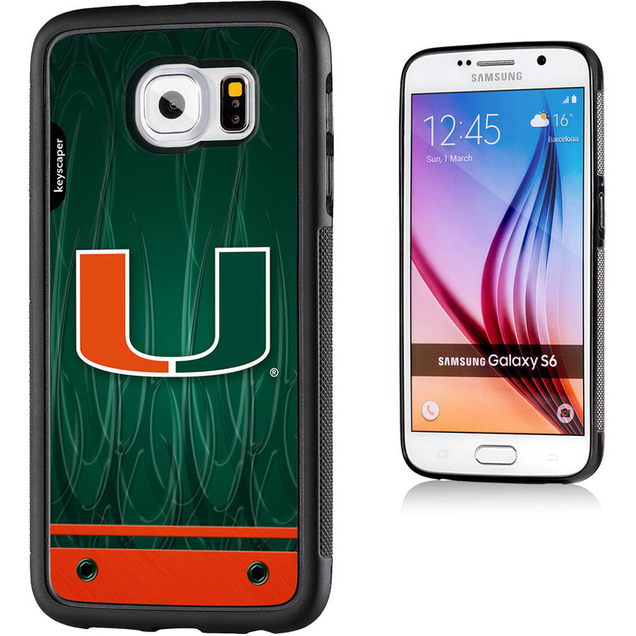 Miami Hurricanes Galaxy S6 Bumper Case