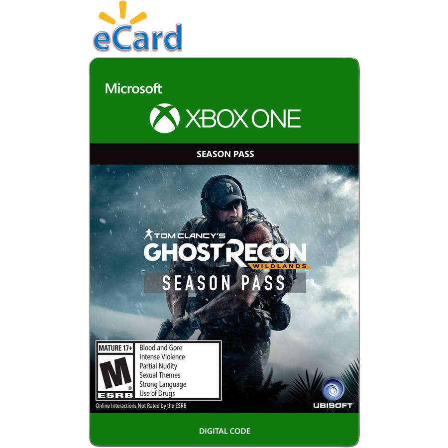 Xbox One Ghost Recon Wildlands Season pass (email delivery)
