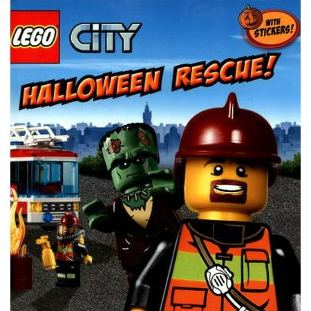 LEGO City: Halloween Rescue! (Paperback)
