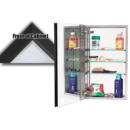 Alno Inc 15'' x 25'' Recessed Beveled Edge Medicine Cabinet