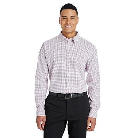 Devon & Jones Men's CrownLux Performance™ Micro Windowpane Shirt - image 1 of 1