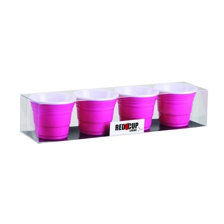 Red Cup Living - 2 oz. Pink Shooter Cup (Set of 4)](2 Oz In Cups)