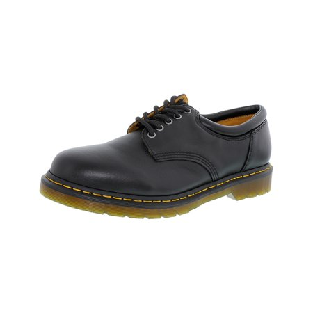 Dr. Martens Men's 8053 Lace-Up Black Ankle-High Leather Oxford Shoe - - Kids Floral Dr Martens