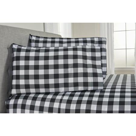 Mainstays Buffalo Check Bed In A Bag Bedding Set Estoreinfo