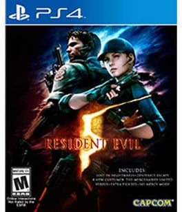 Resident Evil 5, Capcom, PlayStation 4