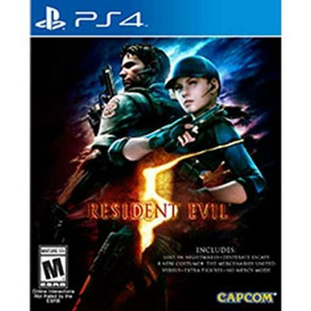 Resident Evil 5 Capcom Playstation 4 Walmart Com Walmart Com