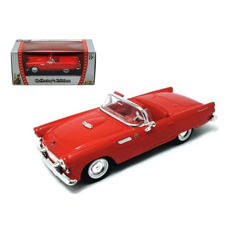 1955 Ford Thunderbird Red 1/43 Diecast Car by Road - 1960 Ford Thunderbird