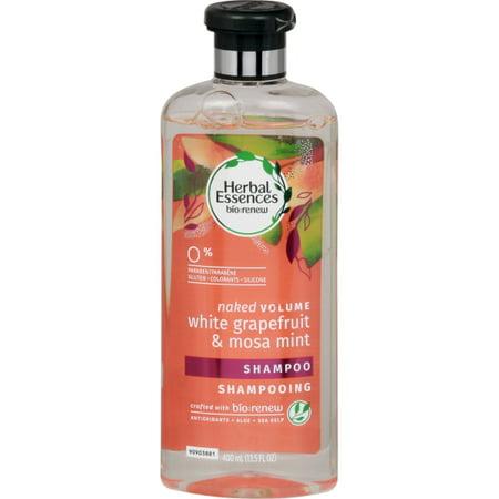 Herbal Essences Naked White Grapefruit & Mosa Mint Shampoo, 13.5 Oz
